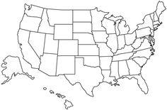 Blank Printable Map Of The Us Clipart Best Clipart Best | Centers