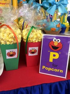Sesame Street Birthday Party Ideas   Photo 1 of 17   Catch My Party