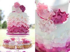 Как сделать рюши на торт