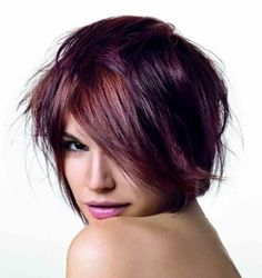 "We Like This Hair Color Trend ""Berry"" Much... 