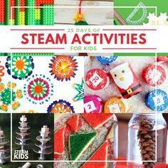 STEAM Kids Christmas Ebook