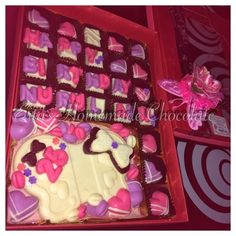 Eita's Homemade Chocolate: 35pcs Eita's Homemade Chocolate in a box