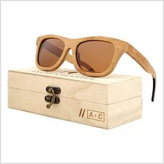 4602b11dd20 A.C 2017 New fashion Products Men Women Glass Bamboo Sunglasses au Retro  Vintage Wood Lens Wooden