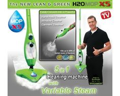 his daily deal for the H20 X5 5-in-1 Steam Mop is the cheapest in online shopping. Just like all products sold here, this is a 100% authentic product and has the following accessories:  Microfiber Cloth Window Cleaning Tool Window Coral Cloth Garment Cloth Duster Tool Duster Cloth Jet Nozzle Extension Hose Nylon Brush Wire Brush Measuring Cup