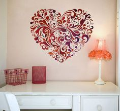 50+ Beautiful Designs Of Wall Stickers / Wall Art Decals To Decor Your Bedrooms