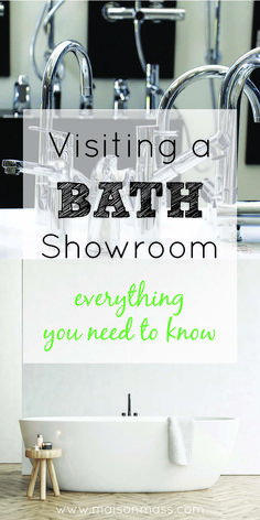 Remodeling your bathroom? Chances are you'll be visiting a bath showroom as part of the process. Find out everything you need to know here: http://www.maisonmass.com/bath-showrooms-in-ma/