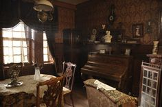 The apartment in the new Sherlock Holmes movie living room