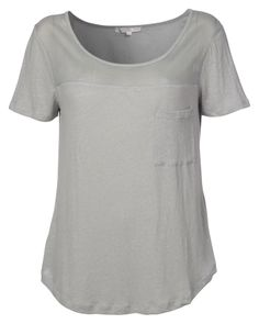 Linen top with pocket Summer 2014, Spring Summer, Contemporary Fashion, Lounge Wear, Knitwear, Pure Products, Pocket, Mens Tops, How To Wear