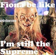 Fiona Goode Supreme Coven, Murder House, asylum American Horror Story Jessica Lange Evan peters, tate Langdon, Kit Walker, Kyle spencer