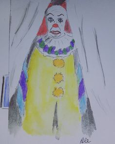 Pennywise #it #king #arte #disegno #matite #disegnare