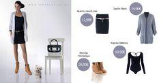 Φούστα - Ζακέτα - Πλατφόρμα Μποτάκι - Δερμάτινη τσάντα Winter 2014 2015, Coats, Detail, Jackets, Fashion, Down Jackets, Moda, Wraps, La Mode