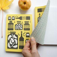 Pretty notebook from Polkka Jam