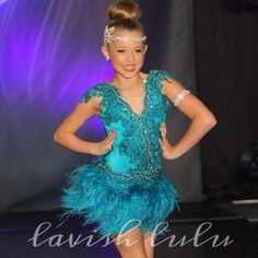 Custom jazz or musical theater dance costume made by Lavish Lulu. www.lavishlulu.etsy.com Instagram: @lavishluludance