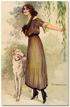 Framed Art Imprimé Fille Avec chiens par Charles Burton Victorian Photo Cadeau 107