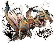 Monster Hunter Fanart - Tigrex
