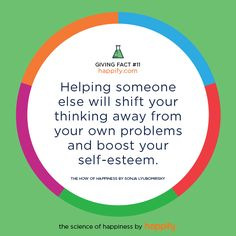 Why Helping Others is Good for You, Too