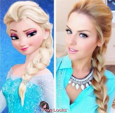 Elsa's bride Frozen  http://www.rotoscopers.com/2013/10/16/hair-tutorial-elsas-braid-from-disneys-frozen/