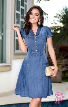 Swans Style is the top online fashion store for women. Shop sexy club dresses, jeans, shoes, bodysuits, skirts and more. Modest Dresses, Simple Dresses, Cute Dresses, Beautiful Dresses, Casual Dresses, Short Dresses, Summer Dresses, Trendy Dresses, Chambray Dress