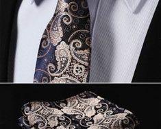 Luxusná pánska sada - viazanka s vreckovkou - vzor 01 Tie Clip, Fashion, Moda, Fashion Styles, Fashion Illustrations, Tie Pin