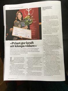 Intervju med mig om den Stora Psykologpriset i #Psykologtidningen