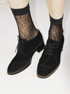 & Other Stories Suede Lace-Up Loafers