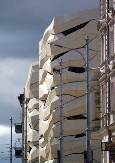Poznan Poland, Galeria MM, widok od al.Marcinkowskiego [fot.Thorn], Poznan Architecture