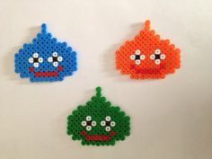 Hey, I found this really awesome Etsy listing at https://www.etsy.com/listing/195445090/lime-dragon-quest-hamaperler-sprites
