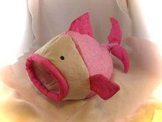 Votre petit animal de compagnie voudrais dormir avec les fishies ? Si cest ce fishie... la réponse est oui ! chiffon 100 % coton et anti-allergique