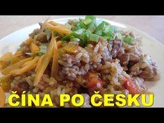 Čína po česku - YouTube Grains, Rice, Beef, Food, Youtube, Meal, Essen, Hoods, Ox