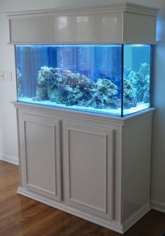 diy aquarium furniture stands are an integral part of every aquatic system. The aquarium stand should be sturdy so that it can bear the weight of a filled a. Cool Fish Tanks, Saltwater Fish Tanks, Saltwater Aquarium, Aquarium Fish Tank, Cichlid Aquarium, Freshwater Aquarium, Aquarium Design, Home Aquarium, Diy Aquarium Stand