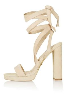 LAVITA Tie Platform Sandals