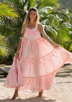 Love Child Pink Maxi Dress