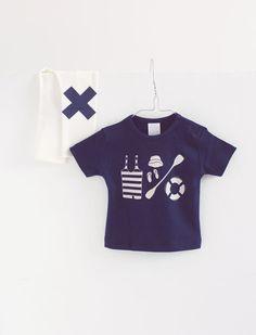 sailor tee available again ! | tinycottons | summer rules