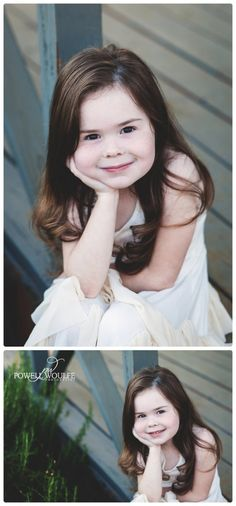 Lavender Princess 5 Year Milestone Session by Powell Woulfe Photography
