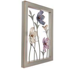 shop.crackerbarrel.com collections blush metal-3d-flowers-wall-decor 604046