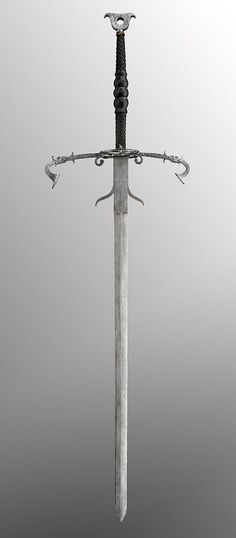 Two-Handed Sword.      Dated: 1573.     Artist/maker: unknown, German.