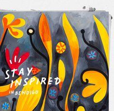 The Schaller Studio: The Schaller Studio (Mark Schaller) Love Illustration, Art Series, Matisse, Art And Architecture, Melbourne, Arts And Crafts, Doodles, Tropical, Birds