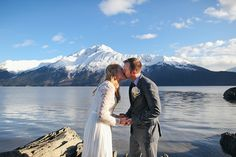Adventurous, Intimate Wedding and Elopement Photography in Alaska by Erica Rose
