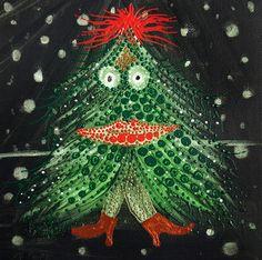 'CHRISTMAS TREE I' by marachowska on artflakes.com as poster or art print $19.61