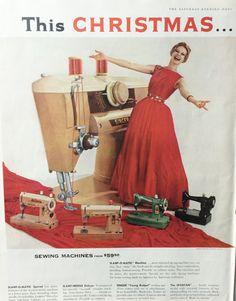 Singer sewing vintage ads something