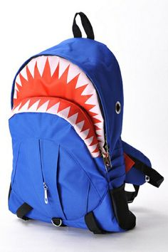 Shark Mouth Large Capacity Backpack, oasap.com, $39.99