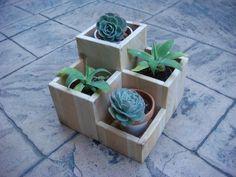 Flower planter garden flower pot cedar wood by RedCedarWoodcraft, $69.00