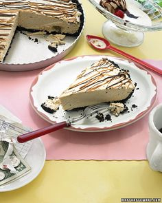 Chocolate-Peanut Butter Pie - Martha Stewart Recipes. The husband will love this.