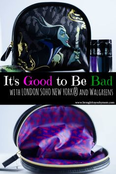 It's Good to be Bad this Halloween! Drop into Walgreens for the NEW Disney Villain makeup case collection by LONDON SOHO NEW YORK®. A stylish way to show your fashion dark side.
