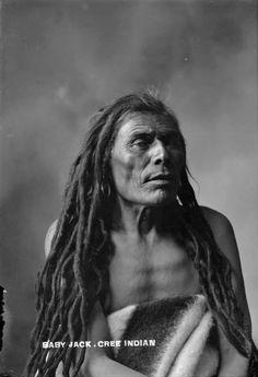 Baby Jack - Cree - circa 1900 ༺ ♠ ༻*ŦƶȠ*༺ ♠ ༻