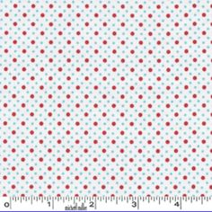 Michael Miller House Designer - Dots - Dot Duo in Red