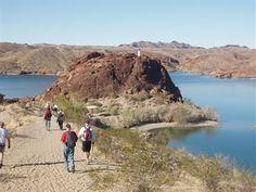 Pilot Rock Trail - Arizona Hiking Trails - Lake Havasu, Arizona