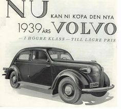 Volvo Ad, Volvo Trucks, Old Ads, Supercars, Vintage Cars, Dream Cars, Classic Cars, Automobile, Advertising