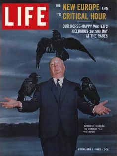 Feb. 1, 1963...Alfred Hitchcock, The Birds
