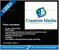 Creative Media - Logo Templates Creative Media ideas